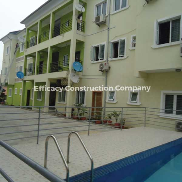 2 Blocks of 6 Units of 3 Bedroom Flats With BQ and 7 Units of 2 Bedroom Flats at GeoCourt, Agungi, Lekki Lagos